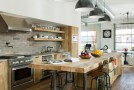 industrial light kitchen
