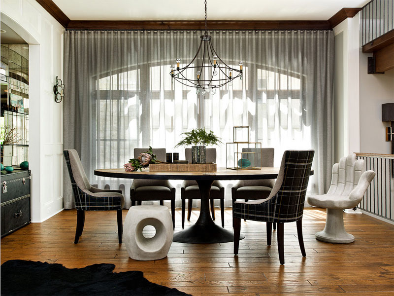 pedestal table dining room