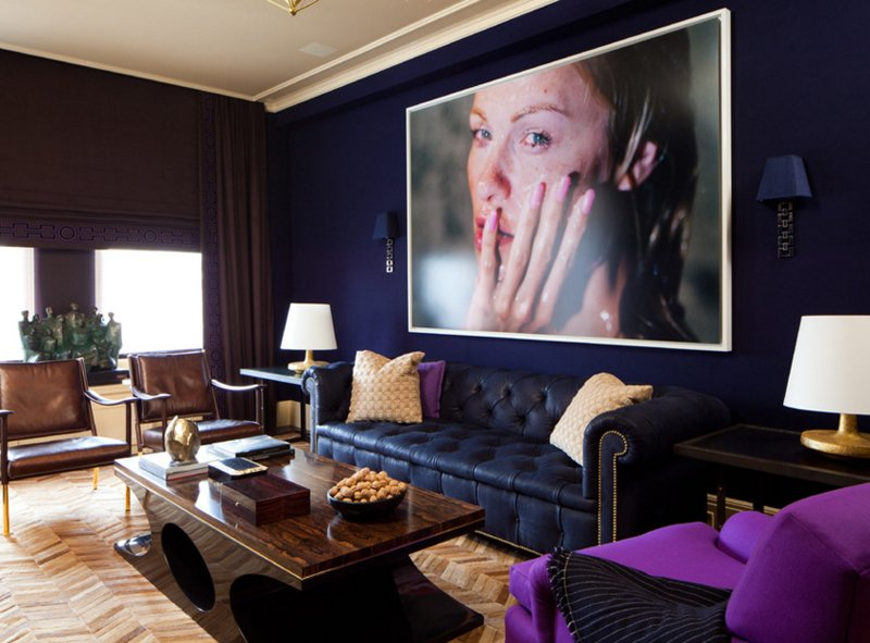 large photo wall