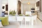 condo white dining
