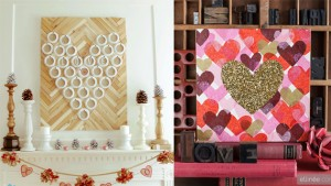 diy heart decor