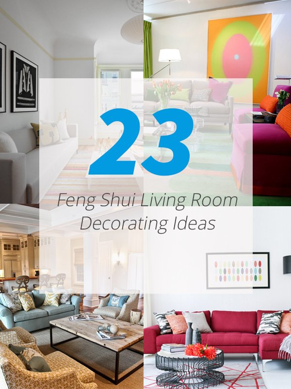 23 Feng Sui Living Room Decorating Ideas to Bring You Luck Love