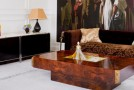 wood rectangle coffee table
