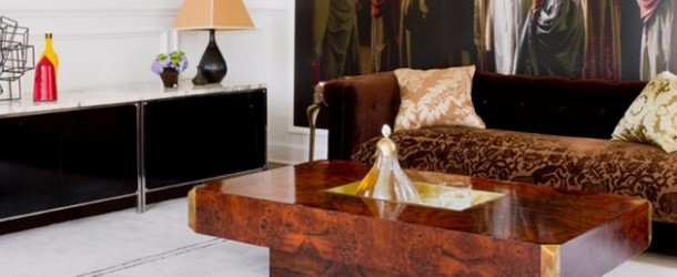 wood rectangle coffee table