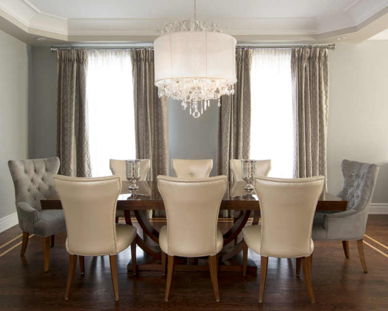 assorted crystal chandeliers in dining rooms  home design lover, Lighting ideas