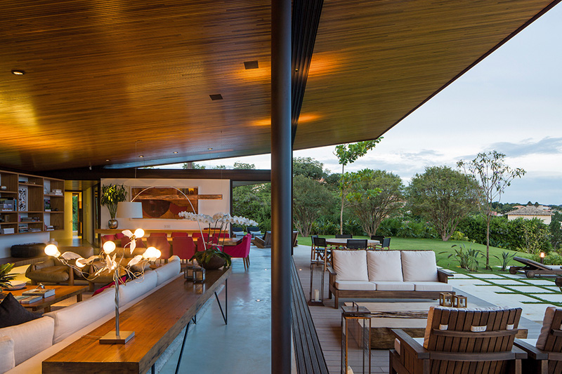 A-House outdoor lounge