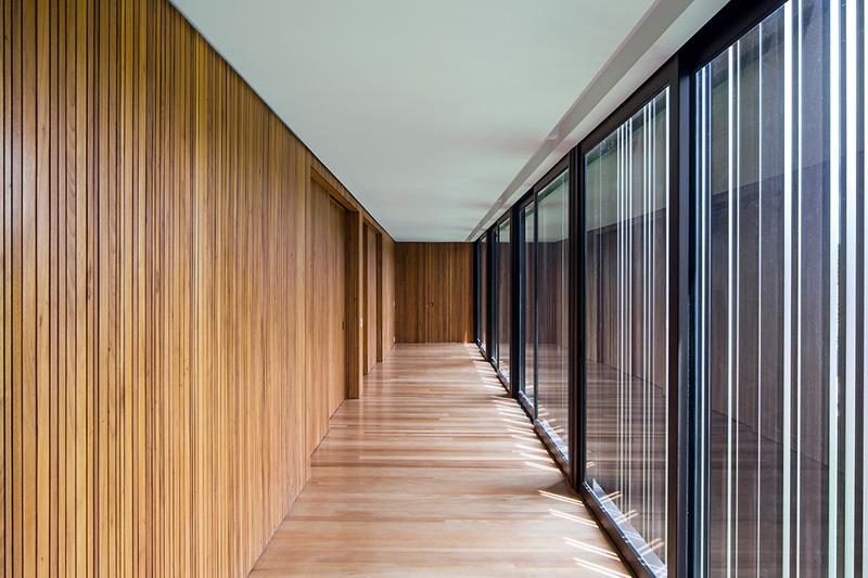 A-House hallway