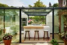 kitchen glass box
