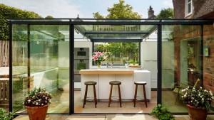 kitchen glass box