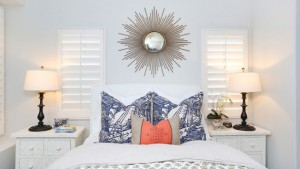 sunburst mirror bedroom
