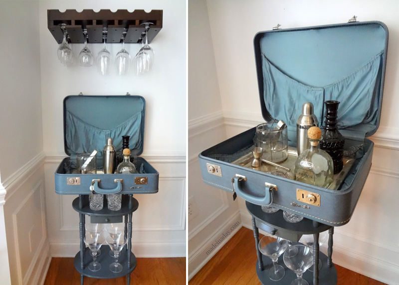 Vintage Suitcase Diy | Luggage And Suitcases