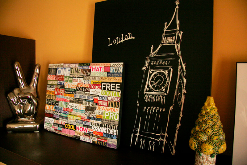 DIY: Collage Art