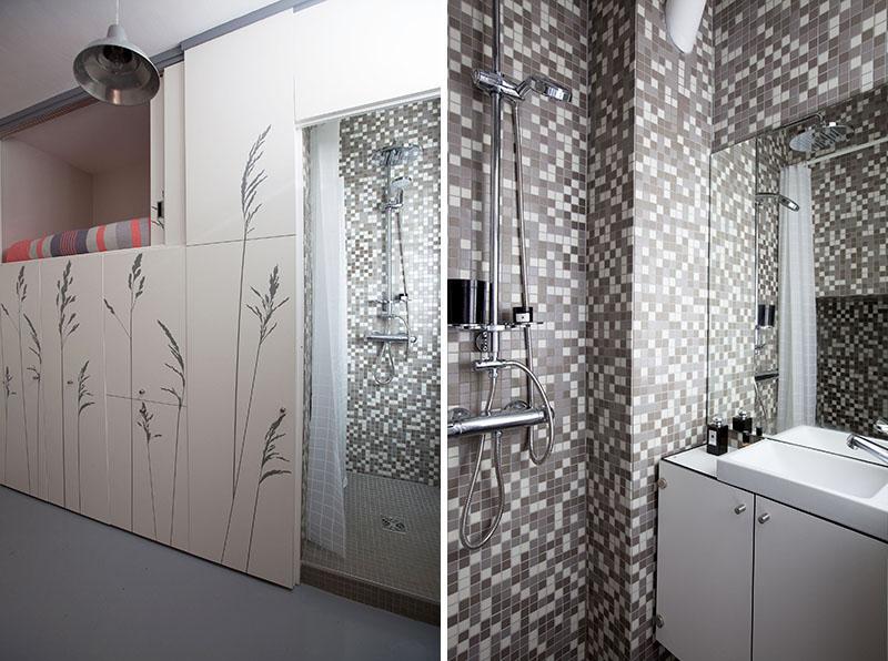 KITOKO Studio Apartment bathroom
