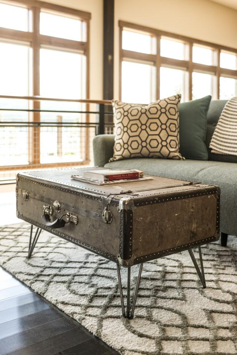 Luggage Coffee Table