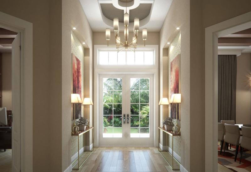 Add lighting fixtures