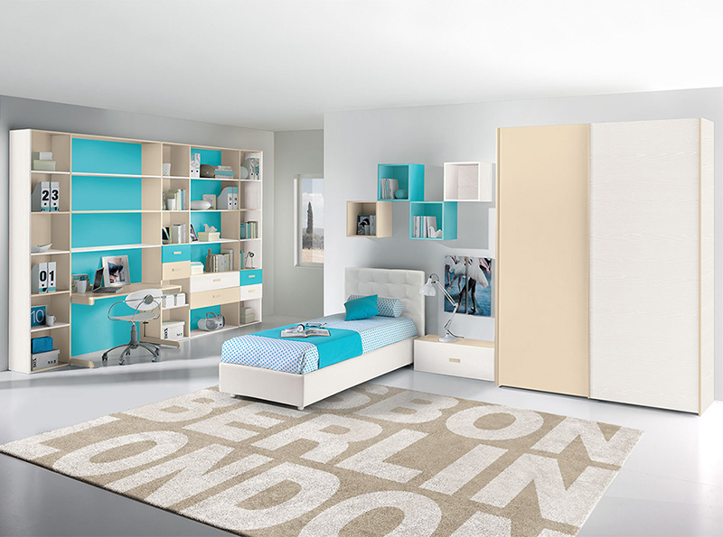 25 modern kids bedroom designs perfect for both girls and for Modern children bedroom designs