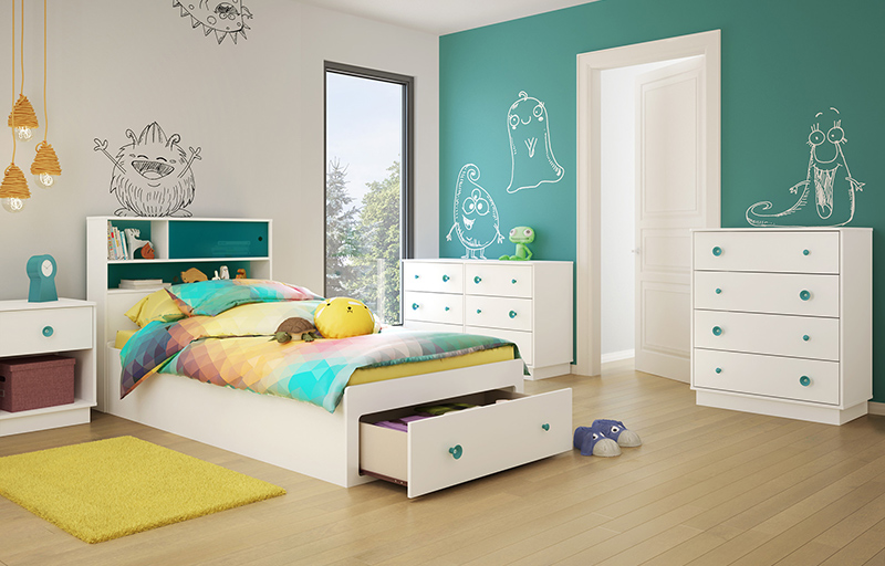 25 modern kids bedroom designs perfect for both girls and for Kids bedroom designs