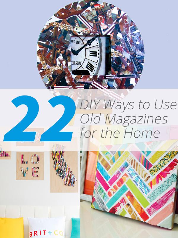 magazines diy
