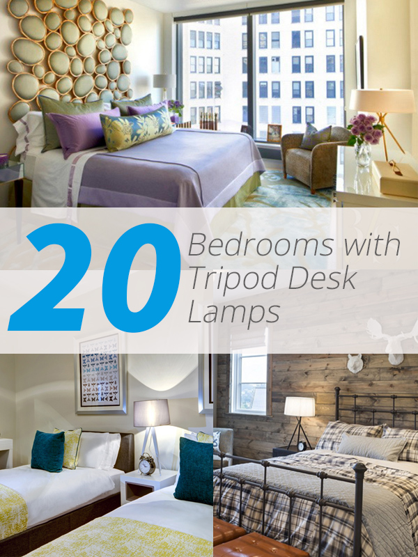 tripod desk bedrooms
