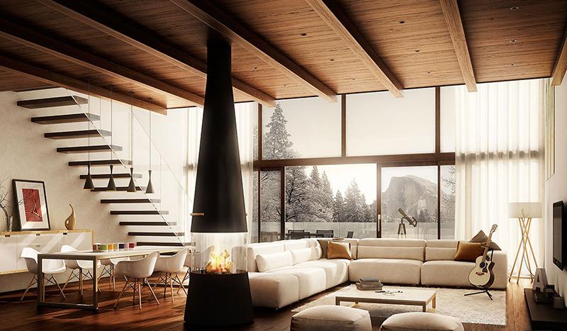 Villa Bonafe (Living room)