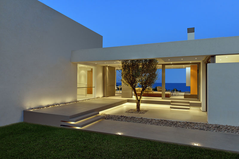 modern greek house architecture modern house