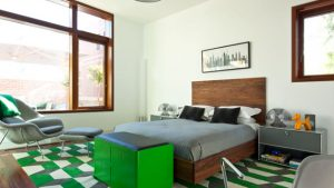 green grey bedrooms