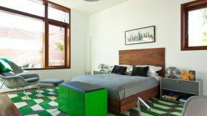 green grey bedrooms
