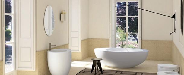 oval bath tub