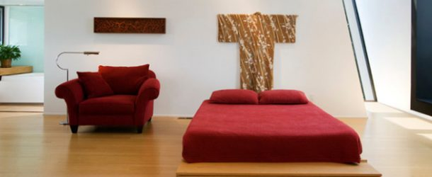 red-chair-bedroom