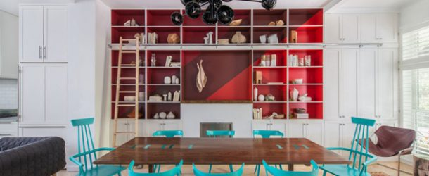 shelving dining