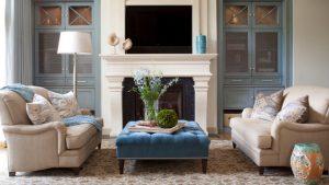 square ottoman livingroom