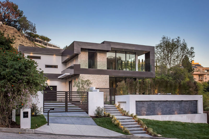 Rising Glen A Beautiful Modern Home In Hollywood Hills
