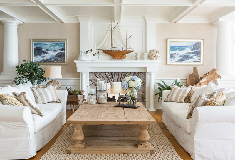 22 Beach Themed Home Decor In The Living Room Home