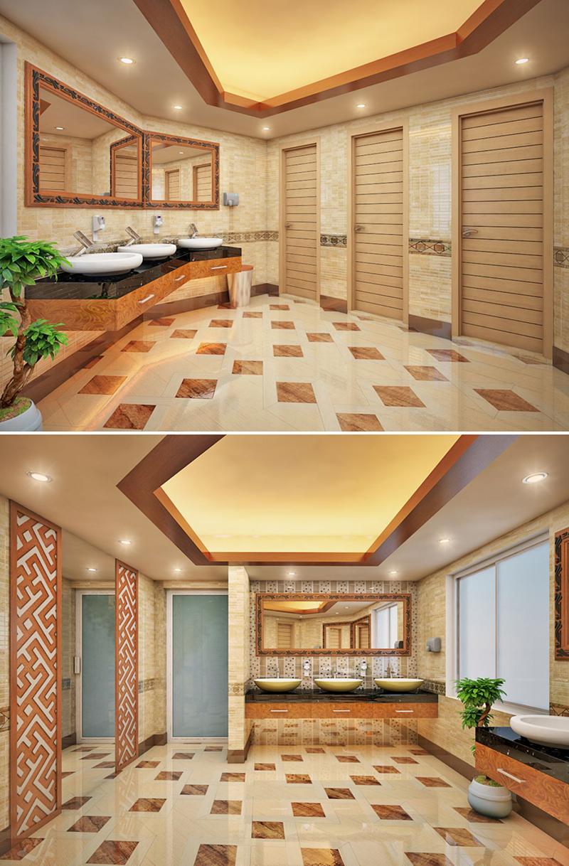 Female Bathroom Design