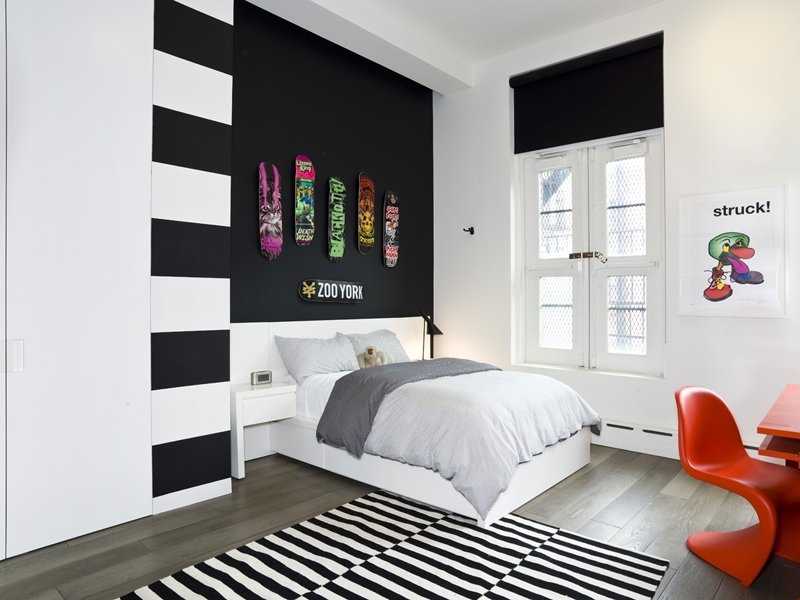 grade new - Black And White Interior Design Bedroom 2