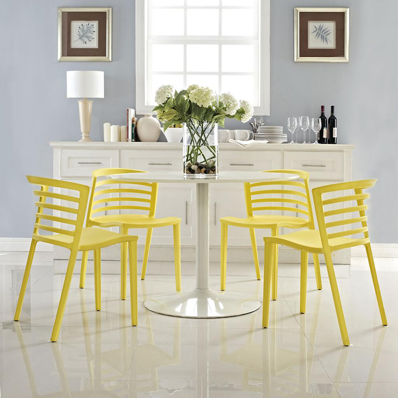Modway Curvy Dining Chairs