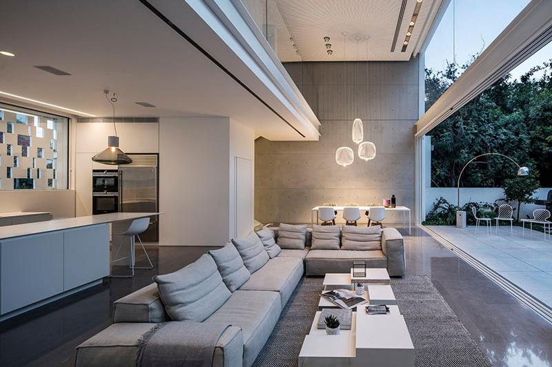Indoor/Outdoor Living Space couch