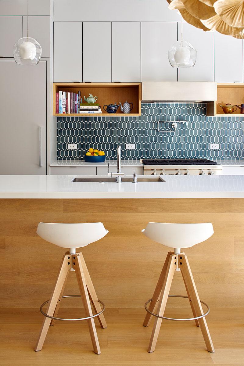 Urban Oasis kitchen