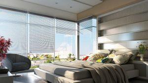 bedroom floor to ceiling