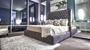 bedrooms nightstand mirrors