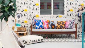 geometric wallpaper lr