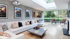 skylights livingroom