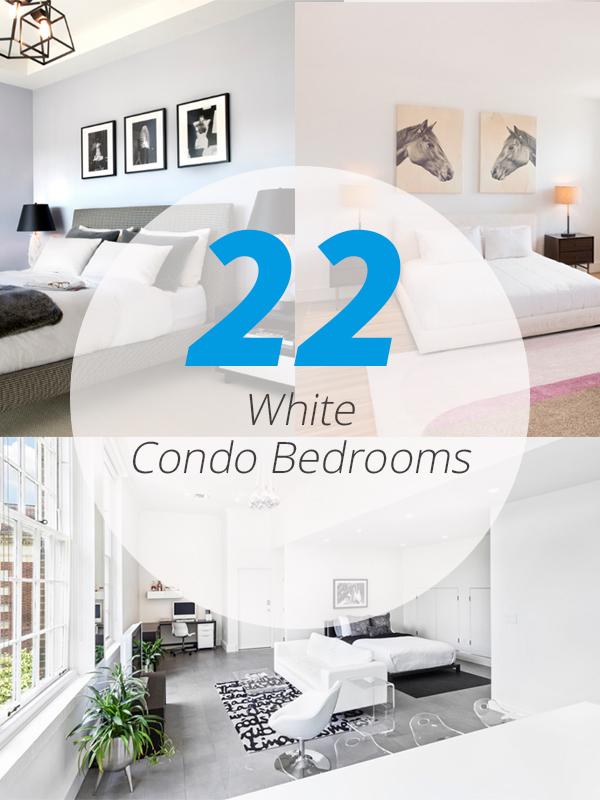 white condo bedrooms