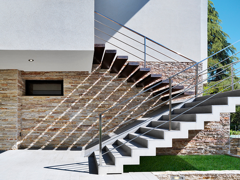 RGR House staircase