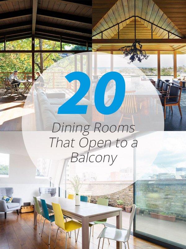 dining balconies