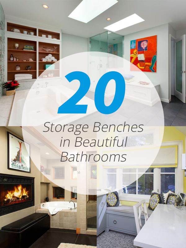 storage bench bath