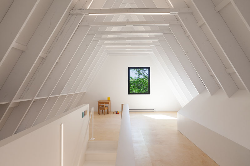 Black Cabin attic