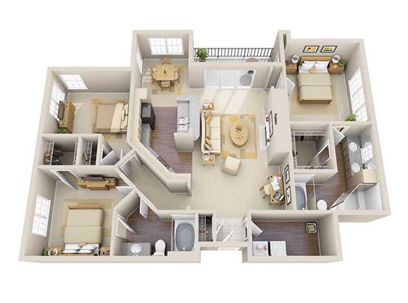 Riverhill Carlton 3D