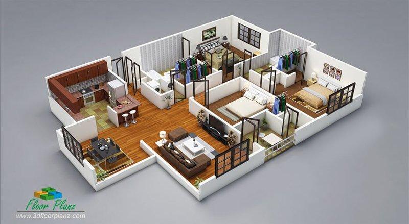 3D Floor Planz