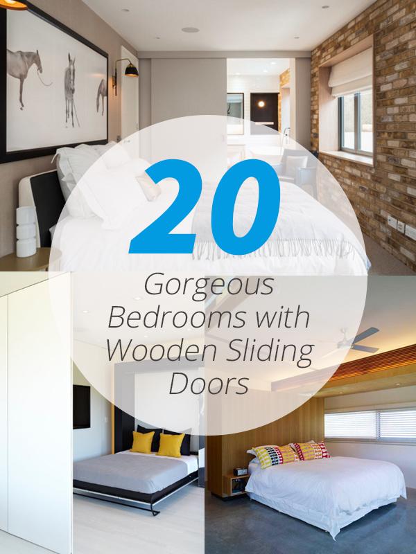 bedrooms wooden sliding